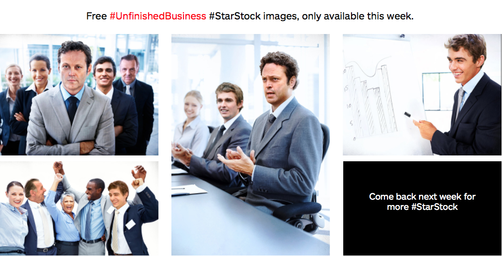 Istock Promotion für Unfinished Business