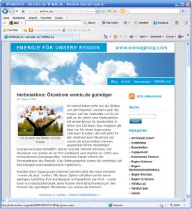 wemagblog.com - hier öffnet sich ein neuer Kommunikationskanal