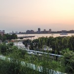 Highline Park NYC - View to Jersey