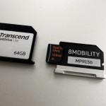 Transcend und Islice: Mit den neuen Mac war ein neuer SD-Adapter notwendig