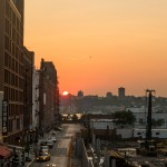 Sundowning at Highline Park NYC