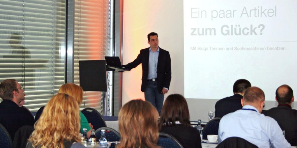 Jost Broichmann Vortrag Tourismusforum 2013